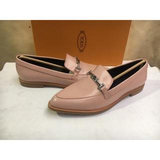 トッズ(TOD'S)の人気品 TODS トッズ レディース 靴 パンプス サイズ37  ピンク色(ハイヒール/パンプス)