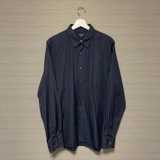 ジルサンダー(Jil Sander)のJIL SANDER ブラックスタンダードカラーシャツ(シャツ)