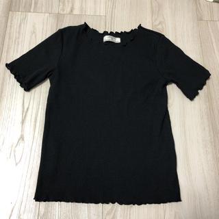 シマムラ(しまむら)のリブ メローTシャツ 半袖(Tシャツ(半袖/袖なし))