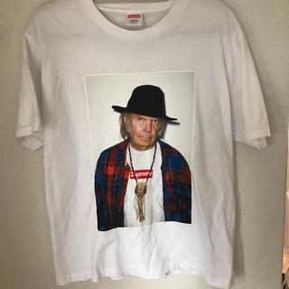 シュプリーム(Supreme)の再出品 ニールヤング 15ss(Tシャツ/カットソー(半袖/袖なし))