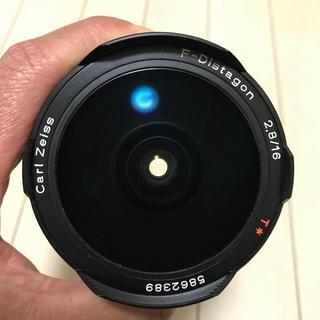 キョウセラ(京セラ)のcontax carl zeiss f-distagon 16mm f2.8(レンズ(単焦点))
