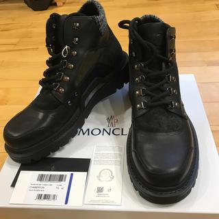 モンクレール(MONCLER)の本物 モンクレール シャベルトン メンズブーツ 42 27cm 未使用 完売品(ブーツ)