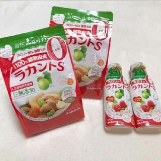 サラヤ(SARAYA)のラカントS 顆粒600g×2 液状280g×2(ダイエット食品)