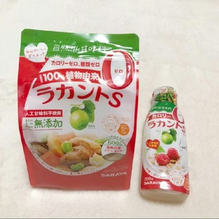 サラヤ(SARAYA)のSARAYA  ラカントS   顆粒600g  液状280g(ダイエット食品)