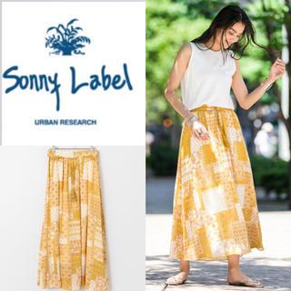 サニーレーベル(Sonny Label)の新品 アーバンリサーチサニーレーベル パッチワークペイズリープリントスカート(ロングスカート)