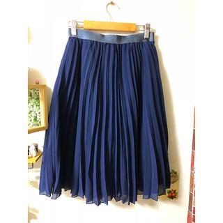オリーブデオリーブ(OLIVEdesOLIVE)のプリーツスカート(ひざ丈スカート)
