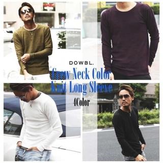 ダブル(DOWBL)のDOWBL セーター ブラック 44(ニット/セーター)