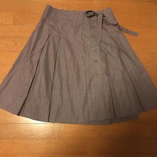 アンテプリマ(ANTEPRIMA)のアンテプリマのコットンフレアスカート サイズ44(ひざ丈スカート)