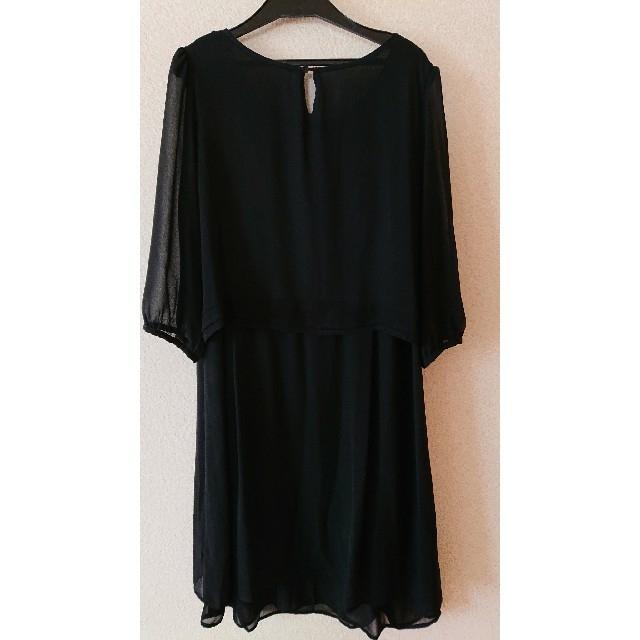 しまむら(シマムラ)のしまむら 喪服 Lサイズ レディースのフォーマル/ドレス(礼服/喪服)の商品写真