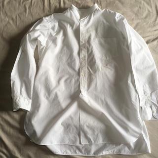 コモリ(COMOLI)のcomoli  バンドカラー シャツ(シャツ)