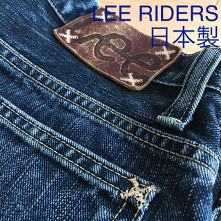 Lee - LEE RIDERS lot71102 w29 エイジド加工
