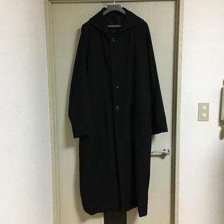 ヨウジヤマモト(Yohji Yamamoto)のヨウジヤマモト お尻抜染 フード コート 18aw(モッズコート)