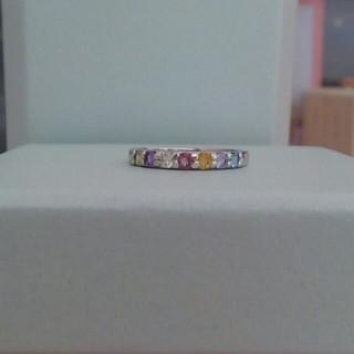 K10ホワイトゴールド ☆天然石☆ アミュレット★ ピンキーリング(リング(指輪))