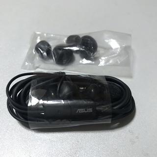 エイスース(ASUS)の[新品・未使用]ASUS ZenFone 付属品イヤホン(ヘッドフォン/イヤフォン)
