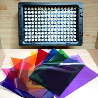 幻想の世界!演出に最適な撮影照明!LEDライト!カラフルな撮影に!美品!(ストロボ/照明)