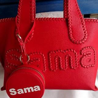 サマンサタバサ(Samantha Thavasa)のサマンサタバサトートバッグ小♡赤♡(トートバッグ)