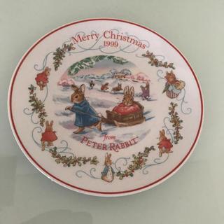 ウェッジウッド(WEDGWOOD)のピーターラビット ウエッジウッド クリスマスプレート 1999(食器)