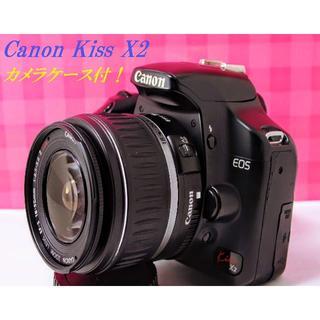 Canon - ♦️初心者のためにFULL装備!Wi-FiSD付!Canon Kiss X2♦️