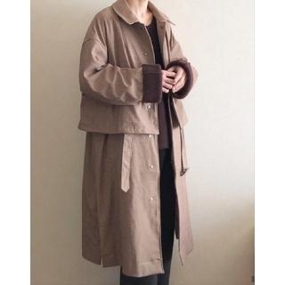 コモリ(COMOLI)のyoke 3way ball collar share coat(トレンチコート)