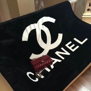シャネル(CHANEL)のブランケット、ベッドカバ (毛布)