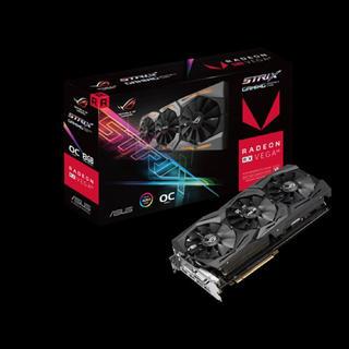 エイスース(ASUS)のROG-STRIX-RXVEGA64-O8G-GAMING(PCパーツ)