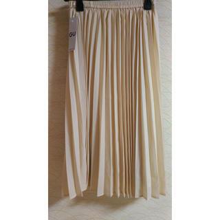 GU - 新品タグ付き プリーツスカート