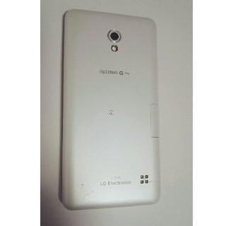 エルジーエレクトロニクス(LG Electronics)の【ジャンク】L-04E本体 ●LG Optimus G Pro●(スマートフォン本体)