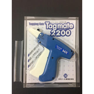 ★新品未使用★ 日本製 タグガン タグメイト 2200MX おまけ付き(店舗用品)