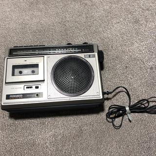 ヒタチ(日立)のジャンク品 日立 パディスコ TRK-5410 ラジオ カセット(ラジオ)