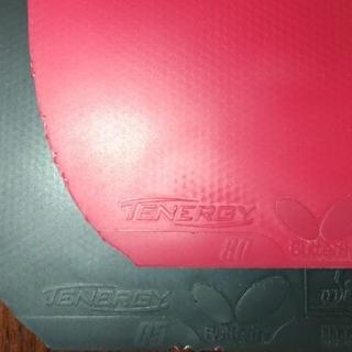 バタフライ(BUTTERFLY)のテナジー05  テナジー80  卓球ラバー(卓球)