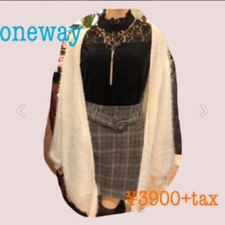 one*way - one way ベルト付きスカート