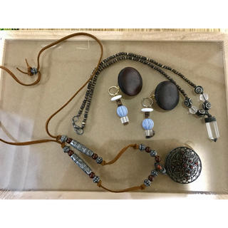チャイハネ(チャイハネ)のアクセサリーセット イヤリング ネックレス チチカカ チャイハネ(ネックレス)