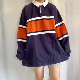 サンタモニカ(Santa Monica)の古着 90s ラガーシャツ(ポロシャツ)