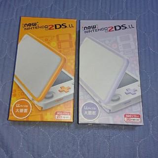 ニンテンドー2DS(ニンテンドー2DS)の【2台同梱】Newニンテンドー2DS LL『オレンジ』『ラベンダー』新品未使用(携帯用ゲーム本体)