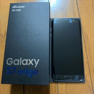 サムスン(SAMSUNG)のGalaxy S7 edge black  32ギガ(スマートフォン本体)