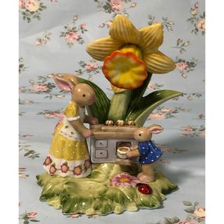 ビレロイアンドボッホ(ビレロイ&ボッホ)の( 美品 )ドイツ  VILLEROY & BOCH  陶器製  置物(置物)