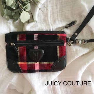ジューシークチュール(Juicy Couture)の新品 希少 ジューシークチュール ポーチ マルチポーチ レザー 財布(ポーチ)
