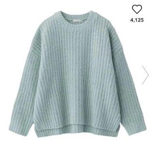 GU - GU モールフェザーヤーンオーバーサイズセーター