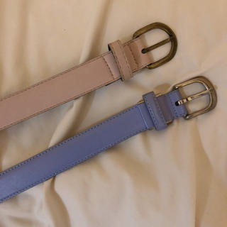 エディットフォールル(EDIT.FOR LULU)のParis vintage pastel belt(sax blue)(ベルト)