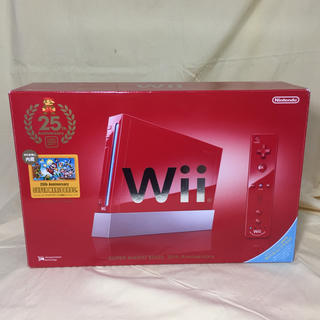 Wii - ニンテンドー RVL-S-RAAV Wii本体 スーパーマリオ25周年仕様