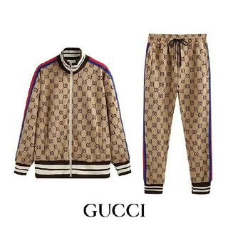 Gucci - 新品未使用 GUCCIジャージGGジャカードロゴ上下セット