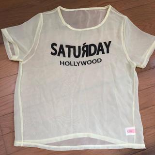 エルディーエス(LDS)のLDS Tシャツ シースルー(Tシャツ(半袖/袖なし))