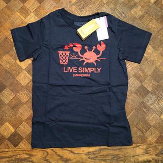 f29dfa08635e4 パタゴニア(patagonia)の新品 パタゴニア キッズ Tシャツ ベビー ボーイズ ガールズ 5T(T