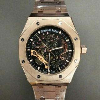 オーデマピゲ(AUDEMARS PIGUET)のオーデマ・ピゲ ロイヤルオーク スケルトン ピンクゴールド(腕時計(アナログ))
