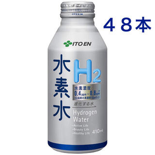 イトウエン(伊藤園)の伊藤園 進化する水 水素水 ボトル缶 (410ml×24本)×2ケース(ミネラルウォーター)