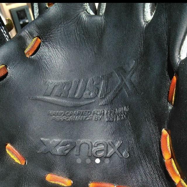 Xanax(ザナックス)のザナックス 硬式用 トラストエックス スポーツ/アウトドアの野球(グローブ)の商品写真