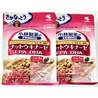 コバヤシセイヤク(小林製薬)の小林製薬 ナットウキナーゼ EPA DHA 30日分 2袋(その他)