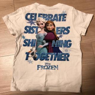 エックスガールステージス(X-girl Stages)のアナと雪の女王 Tシャツ x-GIRL  95(Tシャツ/カットソー)