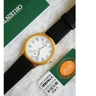 オリエント(ORIENT)のオリエント 腕時計 メンズクォーツ(腕時計(アナログ))