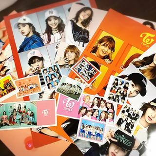 ウェストトゥワイス(Waste(twice))のTWICE ポスター シール(K-POP/アジア)